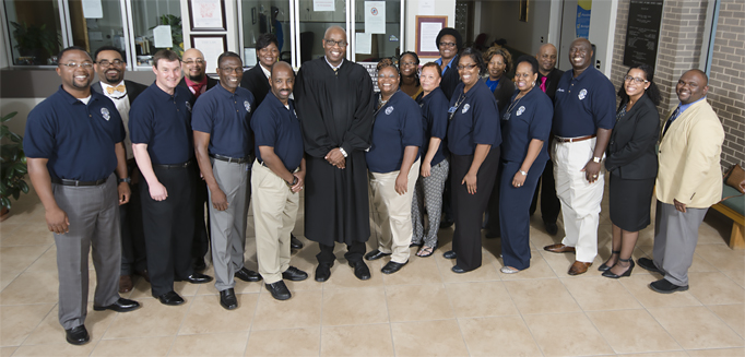 Superb 6th Division Auxiliary Probation Officer Program